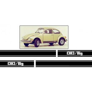 Adesivo VW Maggiolone 1303 BIG